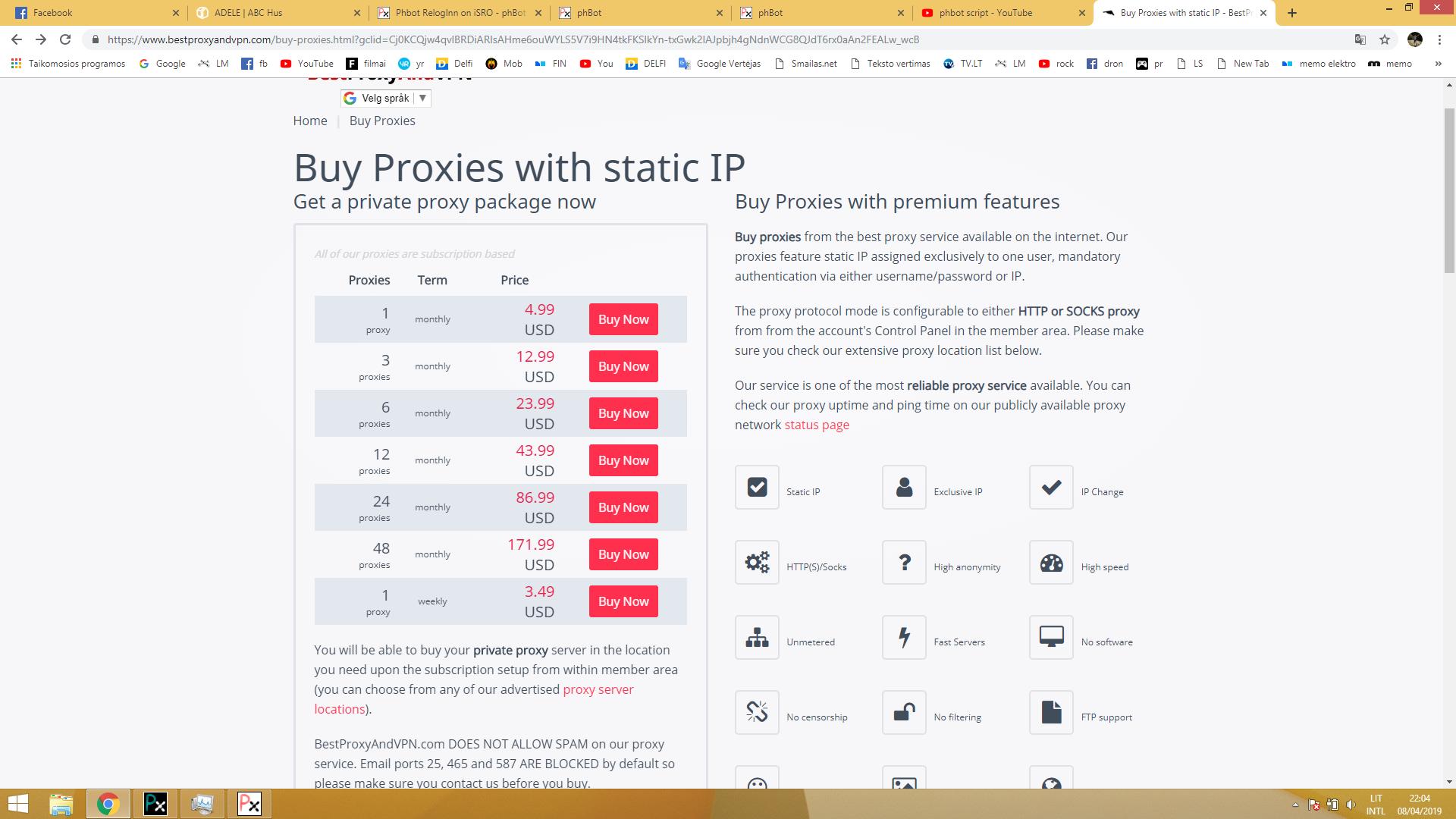 Phbot RelogInn on iSRO - phBot - ProjectHax